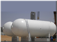 100 KL LPG Storage Tanks