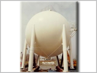 1000M3 LPG Spherical Tank