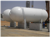 100MT LPG Storage Tanks