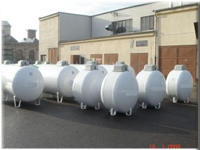 1500 Liters LPG Storage Tanks