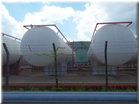 210M3 Propane Storage Tanks