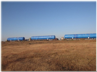 390M3 Propane Mounded Tanks