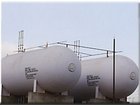 LPG Fuel Installation Tank