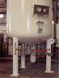 Liquid Nitrogen Gas Tanks Installation