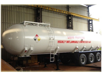 Liquid Propylene Gas Transport Tanks