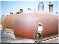Propane Mounded Storage Vessels